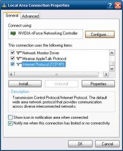 rookies deneyimli  DNS Server adreslerini değiştirmek...